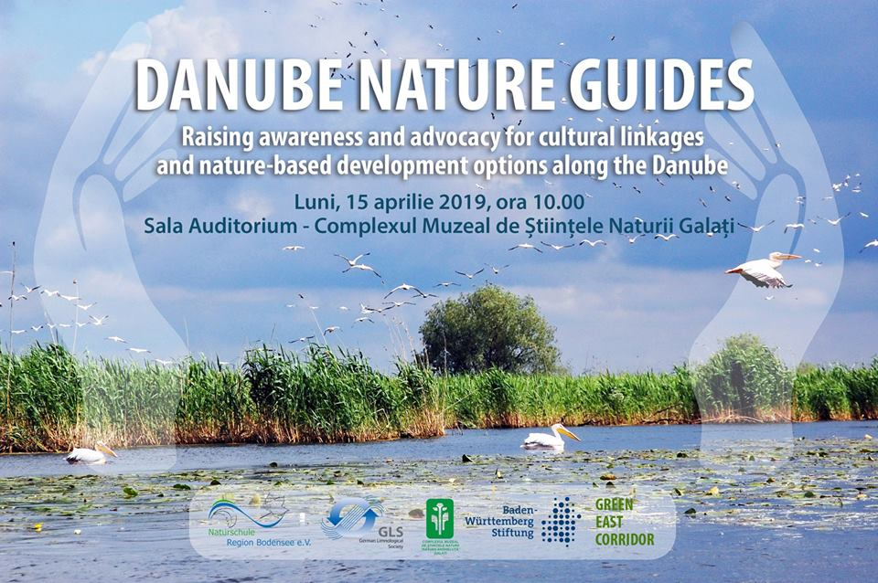 "<p style=""text-align:center;"">Președintele ANTREC Tulcea <br /> Silviu GHEORGHE <br /> a participat la conferința <br> ""Danube Nature Guides – <br> Raising awareness and advocacy for <br> cultural linkages and nature-based <br> development options along the Danube""</p>"