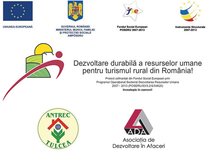 """Workshop pentru transfer de experienţă, 16 – 18 iunie 2010, Crişan, Tulcea organizat de Asociaţia de Dezvoltare în Afaceri, împreună cu partenerii implicați în proiectul """"Dezvoltare durabilă a resurselor umane pentru turismul rural românesc!"""""""