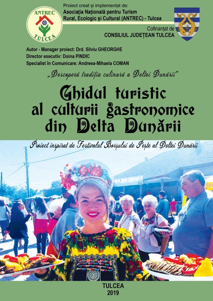"""<p style=""""text-align:center;"""">A apărut Ghidul turistic al culturii gastronomice din Delta Dunării</p>"""
