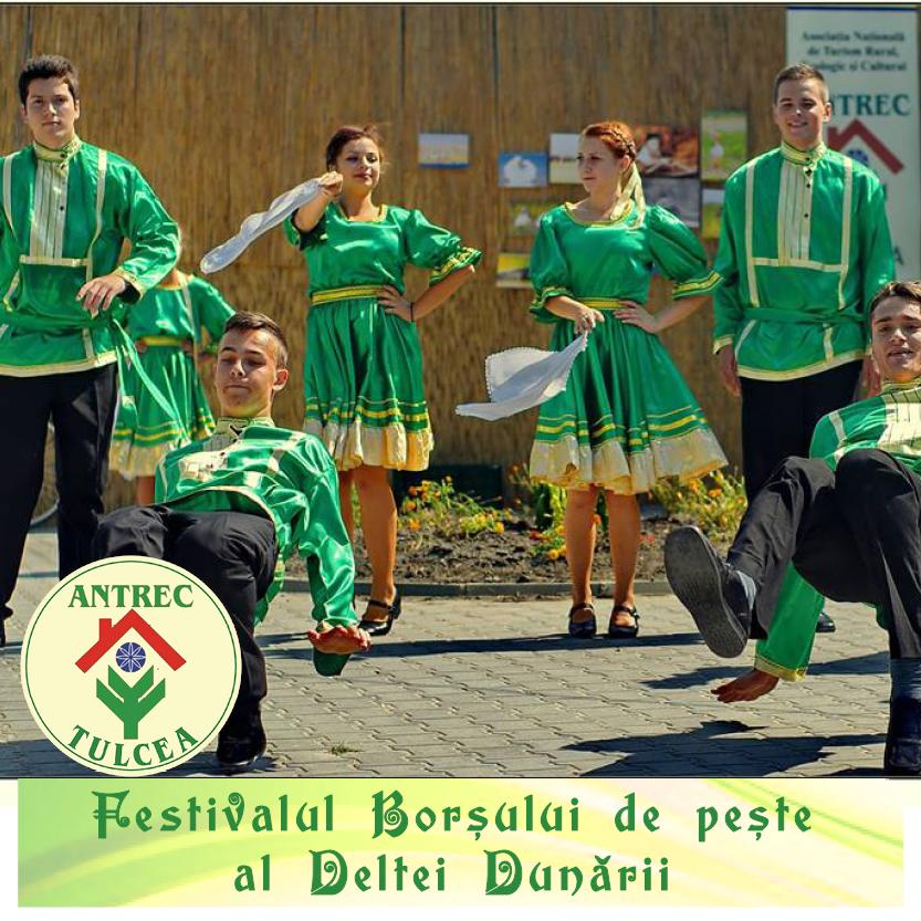 Danube Delta Fish Borscht Festival, initiated and organized by Antrec Tulcea